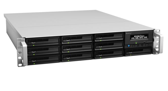 sc 1 st  AnandTech & Synology RS10613xs+: 10GbE 10-bay Rackmount NAS Review