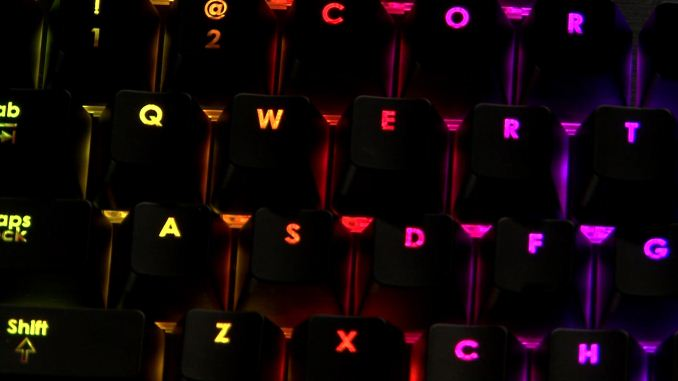 Corsair at CES 2014: A Mechanical Keyboard with Per-Key Full RGB
