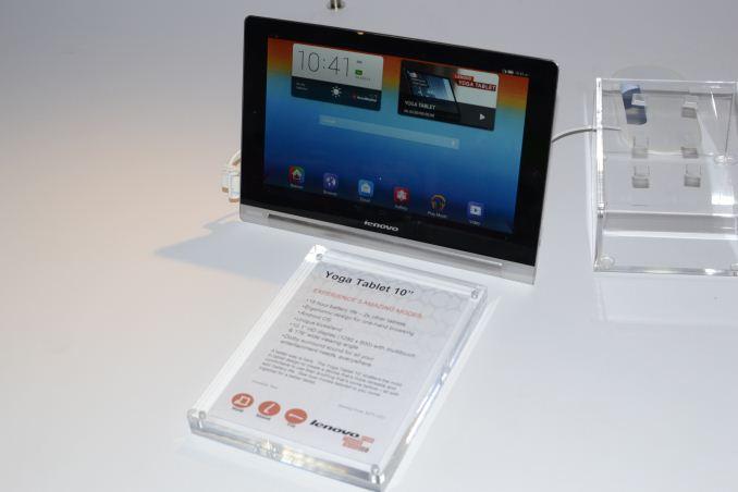 Lenovo: Yoga, Miix 2, and ThinkPad Tablets