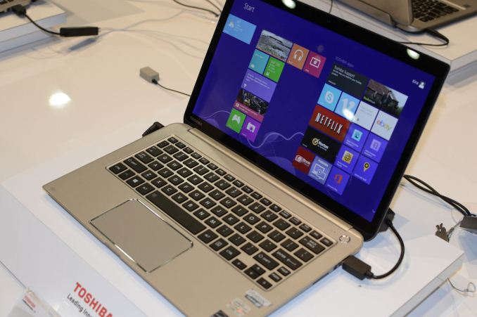 Toshiba's 4K Laptops and Updated KIRAbook