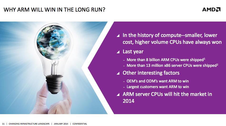 It Begins: AMD Announces Its First ARM Based Server SoC, 64-bit/8