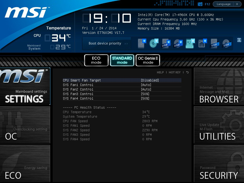 BIOS and Software - MSI X79A-GD45 Plus Review: Building Up