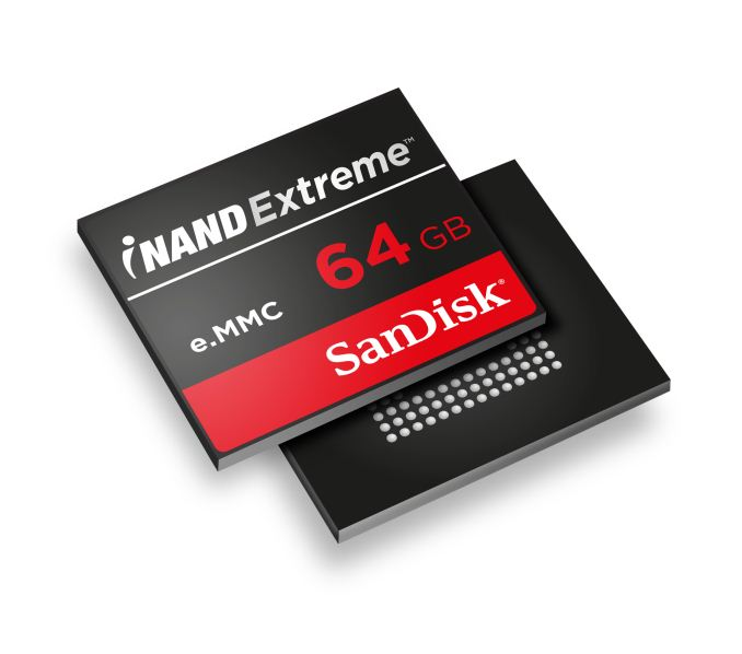 SanDisk iNAND Extreme in 2014: Finally a Good eMMC Solution for Mobile?