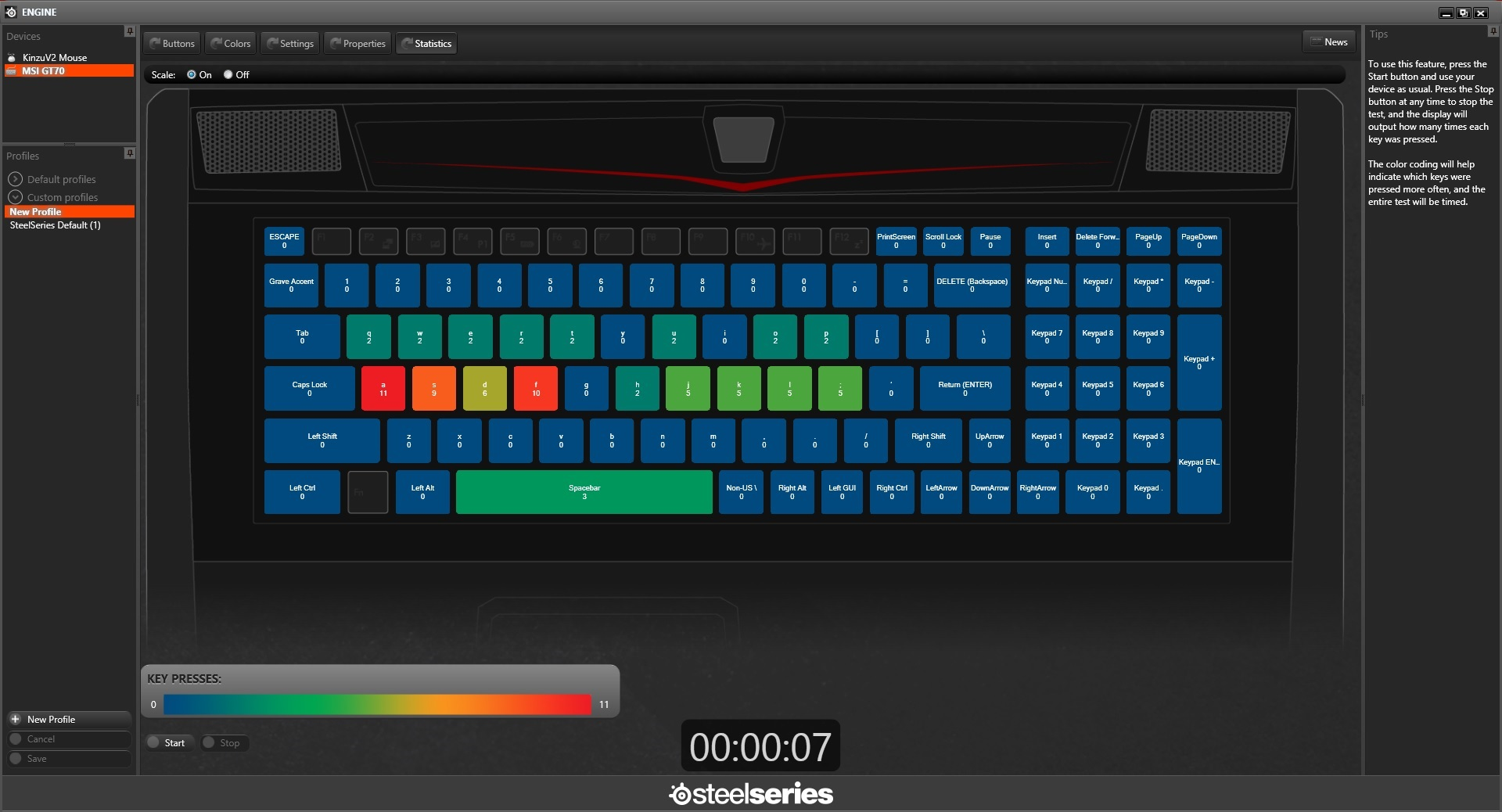 MSI Launches New Keyboard Tools for Upcoming Gaming Laptops