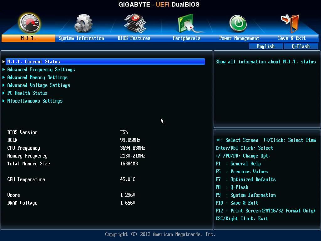 BIOS and Software - GIGABYTE F2A88X-UP4 Review