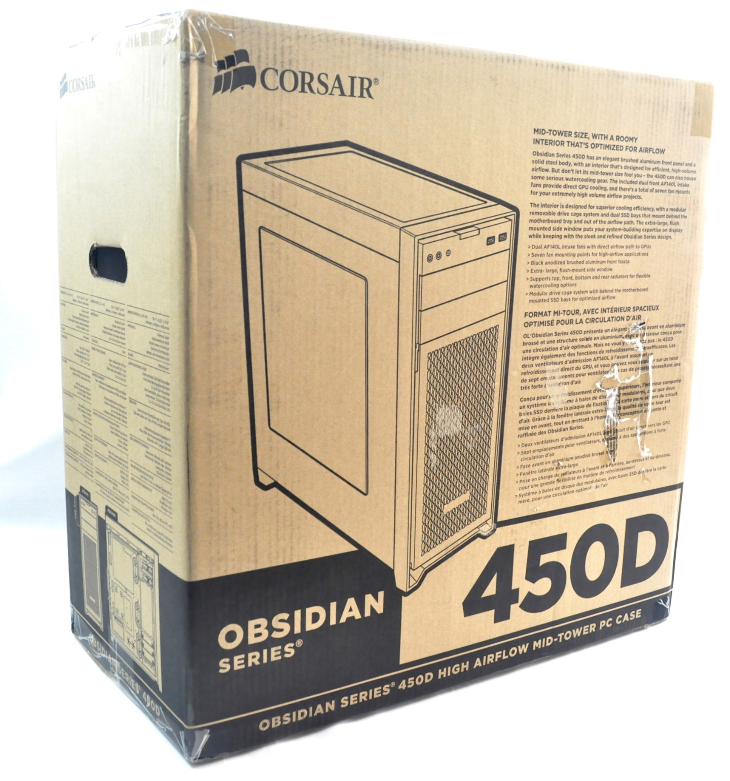 Corsair Obsidian 450D Case Review