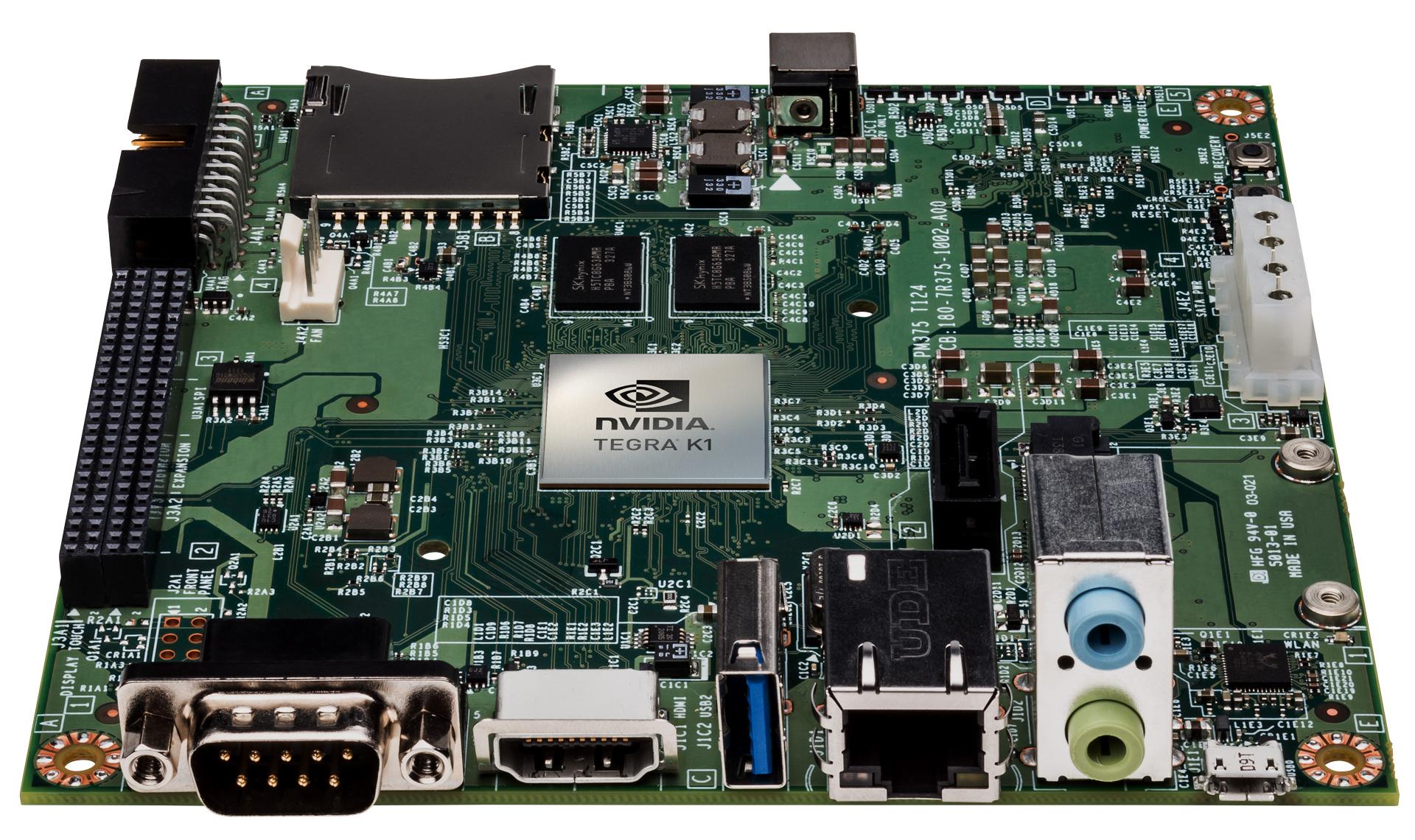 Nvidia Announces Jetson Tk1 Dev Board Adds Erista To Tegra Roadmap