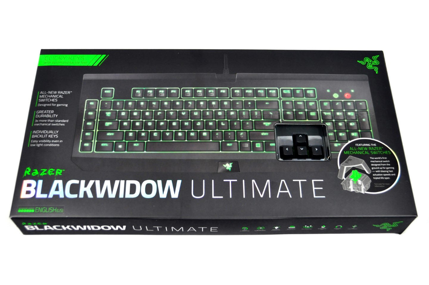 Razer BlackWidow Ultimate Mechanical Gaming Keyboard Review