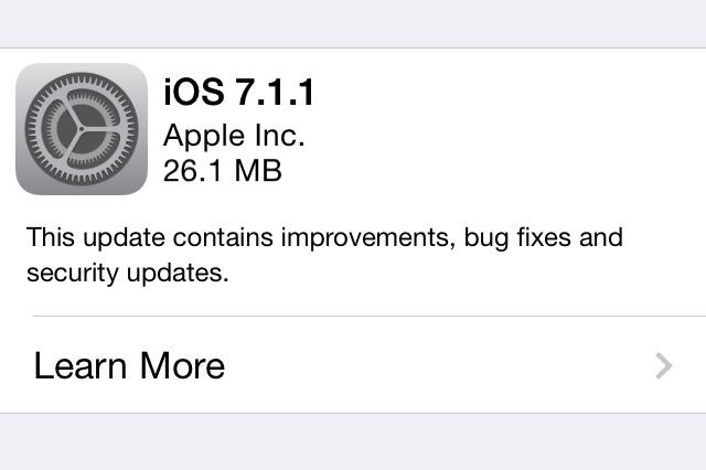 Update IOS 7.1.1, Lebih Menghemat Baterai iPhone