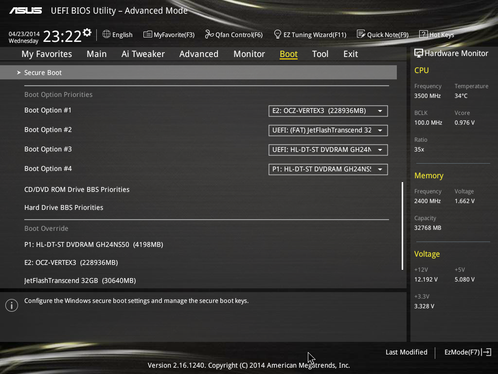 ASUS Z97-DELUXE BIOS - ASUS Z97-DELUXE (NFC & WLC) Review: With Two