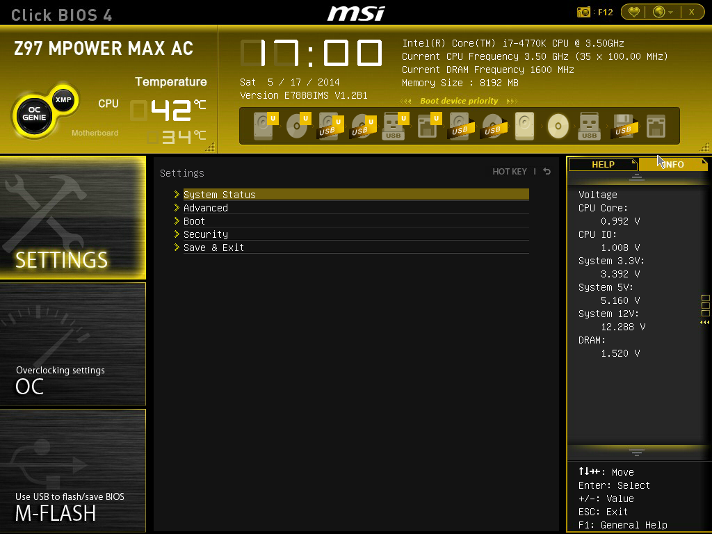 MSI Z97 MPower Max AC BIOS - MSI Z97 MPower Max AC Review