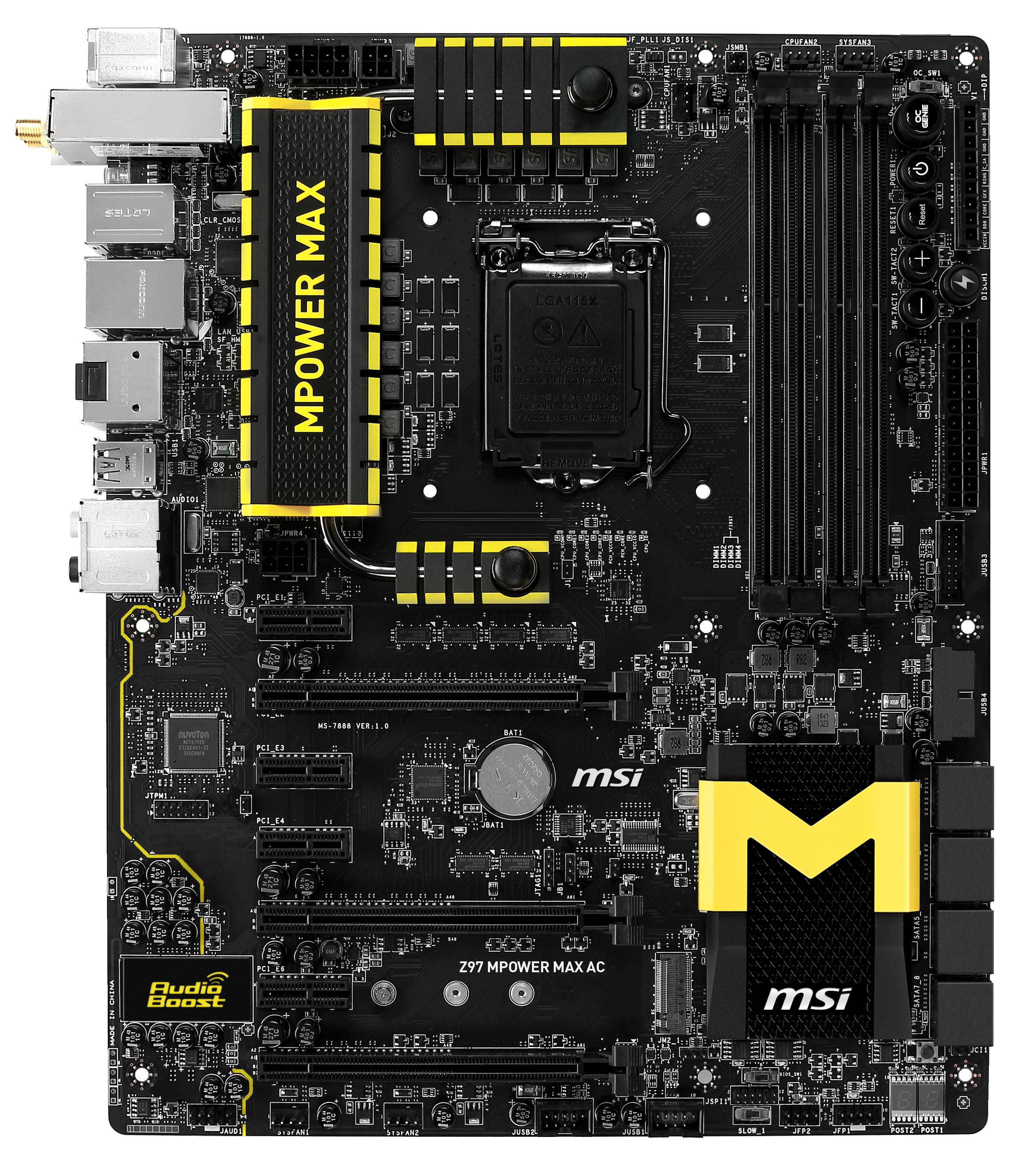 MSI Z97 MPOWER MAX AC BIOS CHIP
