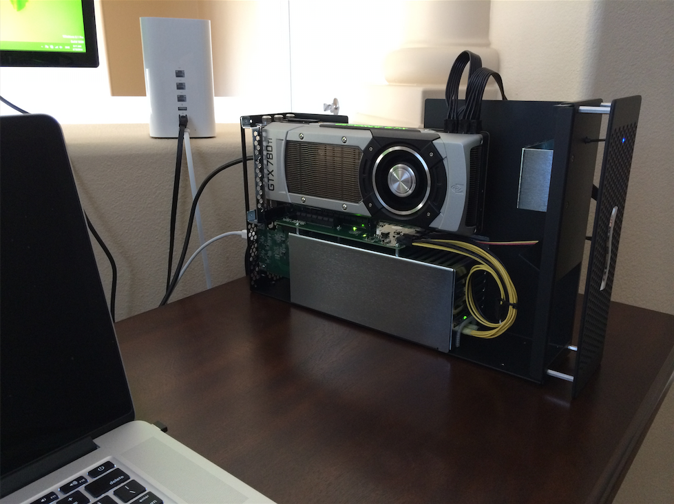 Running An Nvidia Gtx 780 Ti Over Thunderbolt 2