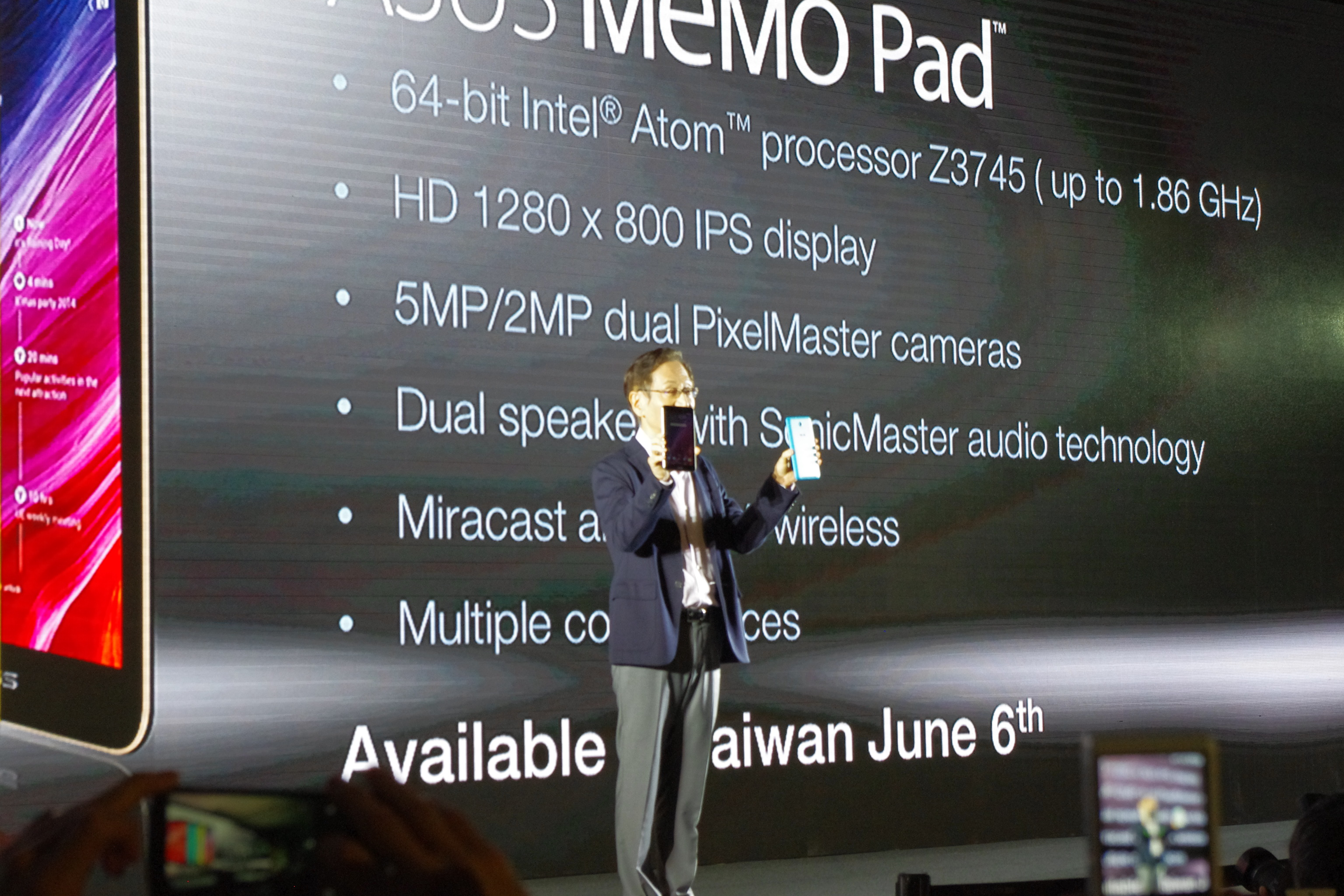 Computex 2014: All new Intel Atom based Fonepad 8, MeMO Pad