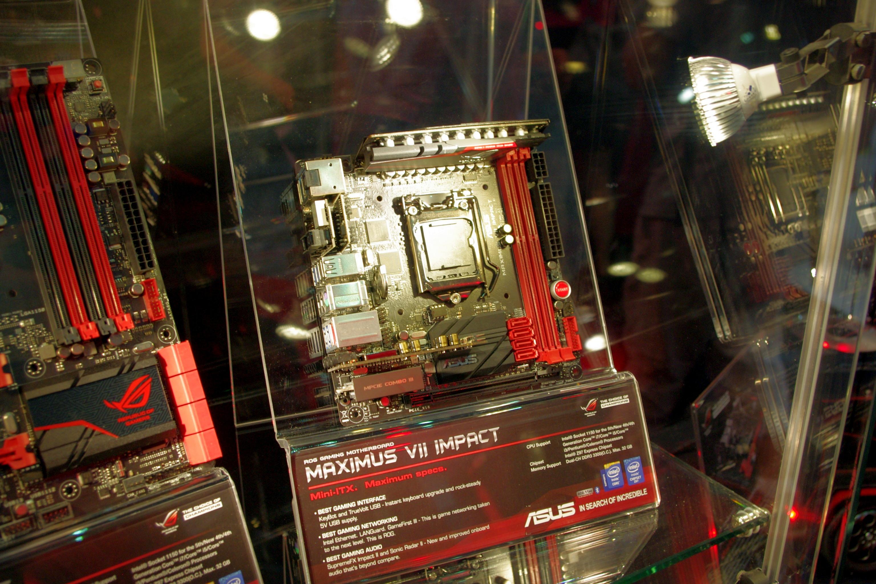 Gaming Motherboards: Impact, Formula, H97-Pro Gamer, the MaxiMini