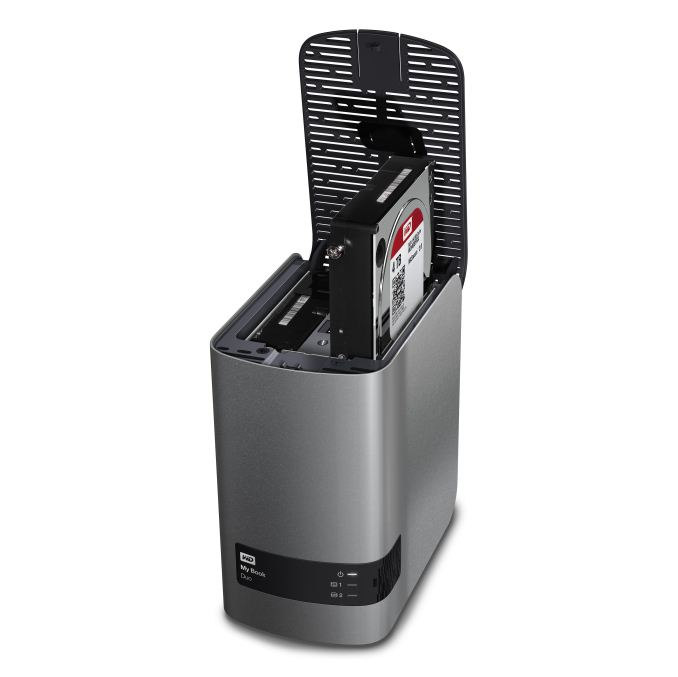 Western Digital Launches My Book Duo 2 Bay Usb 3 0 Das