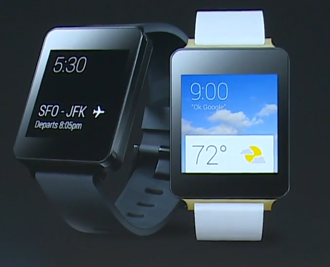 LG G Watch and Samsung Gear Live, The First Two Android Wear Available Today