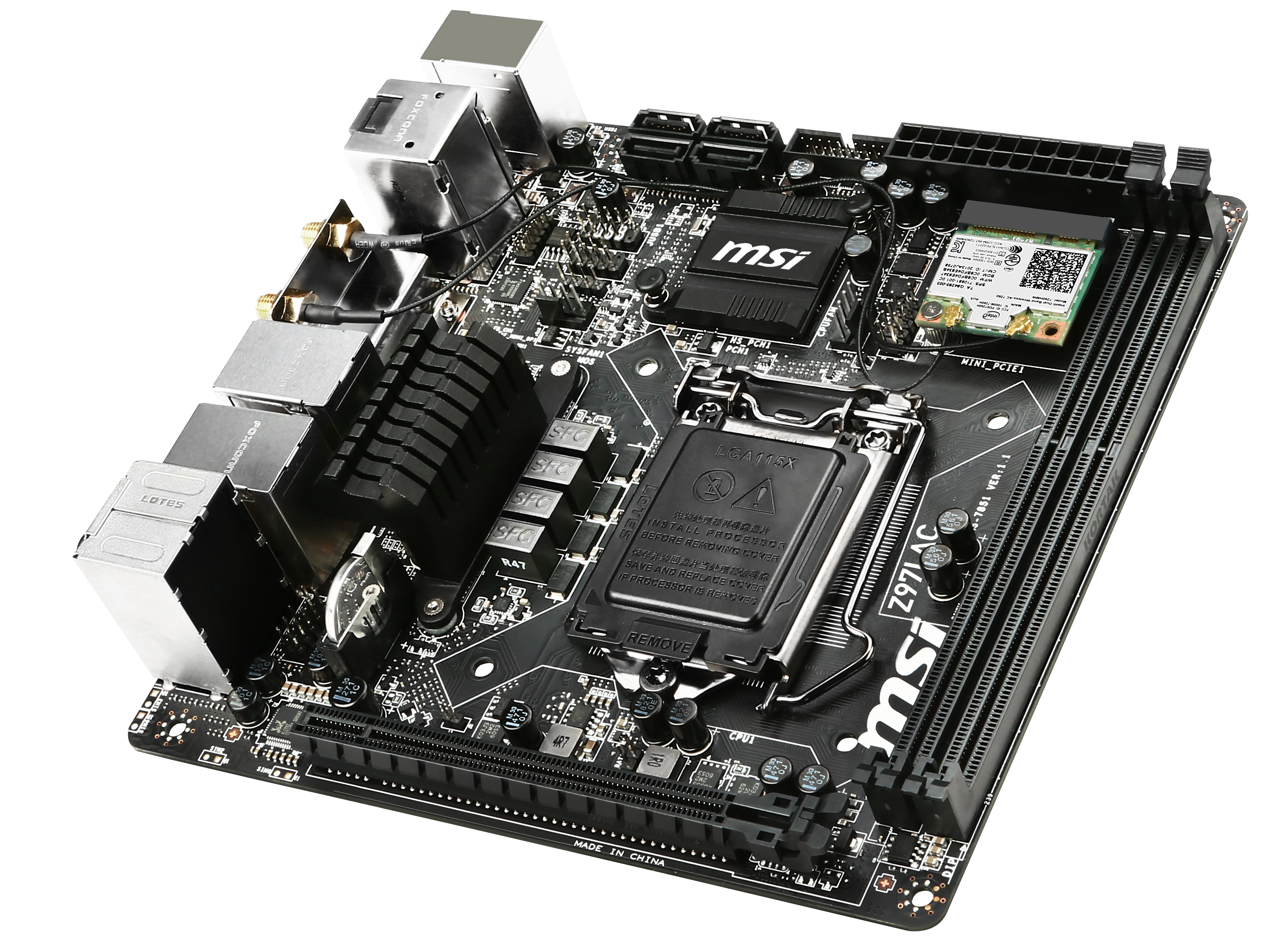 Z97 Mini-ITX Review at $140: ASRock, MSI and GIGABYTE