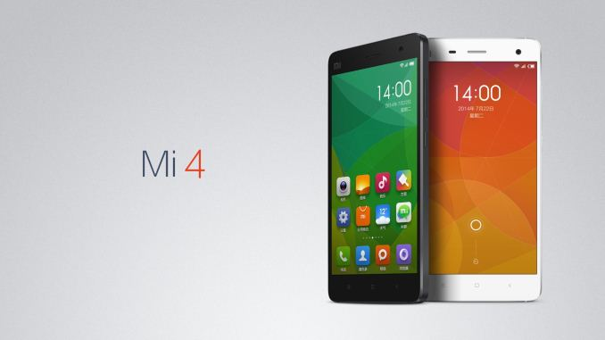 9d023abcfb601 Xiaomi Launches the Mi 4
