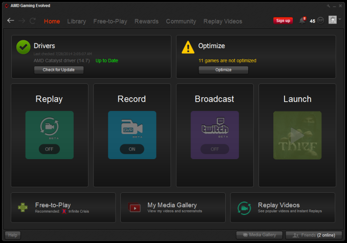 Amd Gaming Evolved Client 4 0 Released