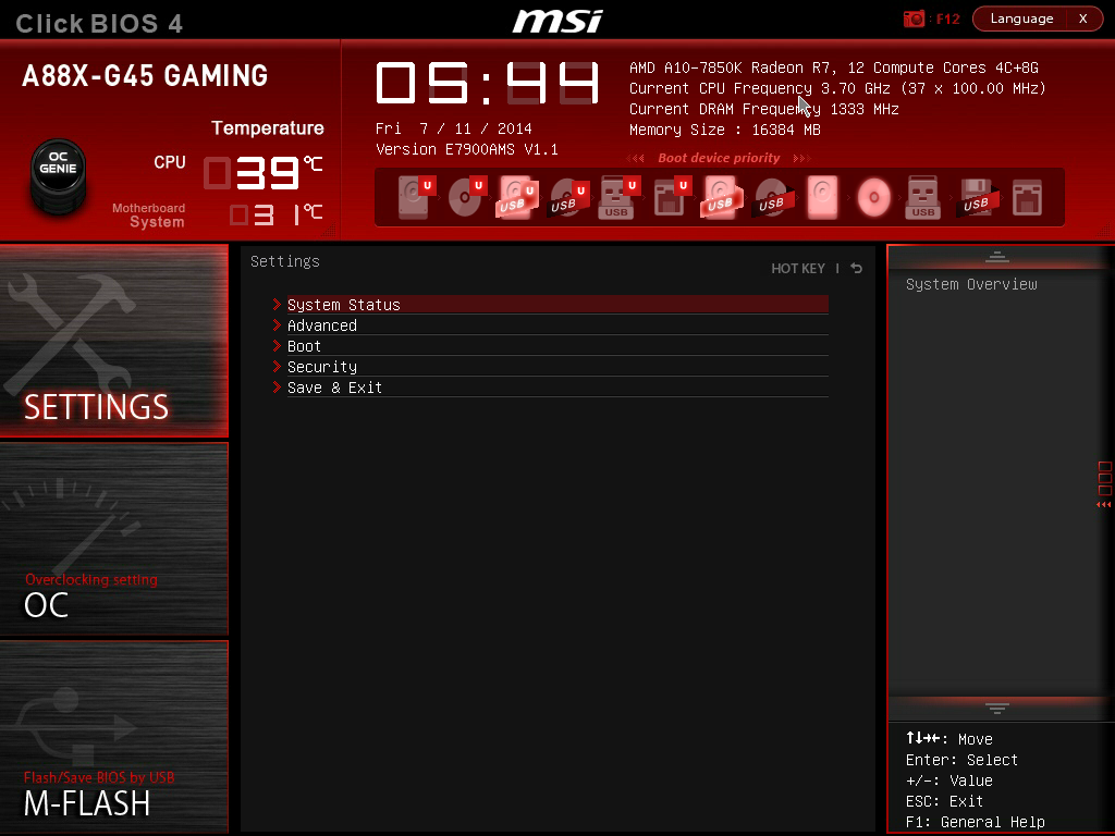 MSI A88X-G45 Gaming BIOS and Software - MSI A88X-G45 Gaming Review