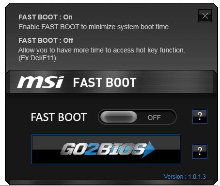 MSI A88X-G45 Gaming BIOS and Software - MSI A88X-G45 Gaming
