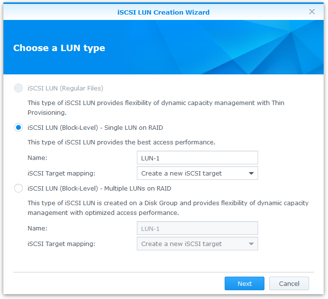 DSM 5 0: iSCSI Features - ioSafe 1513+ Review: A Disaster