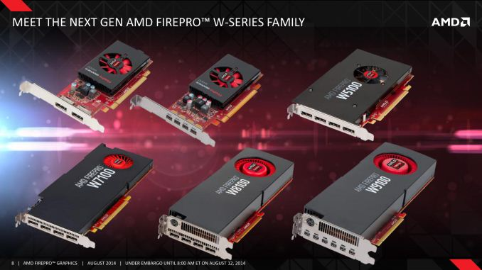 Amd Completes Firepro Refresh Adds 4 New Firepro Cards