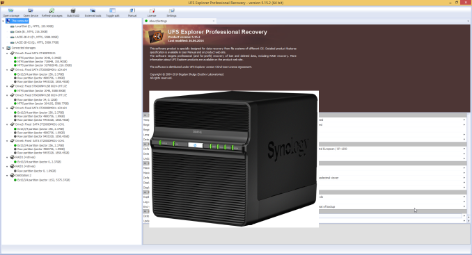Recovering Data from a Failed Synology NAS