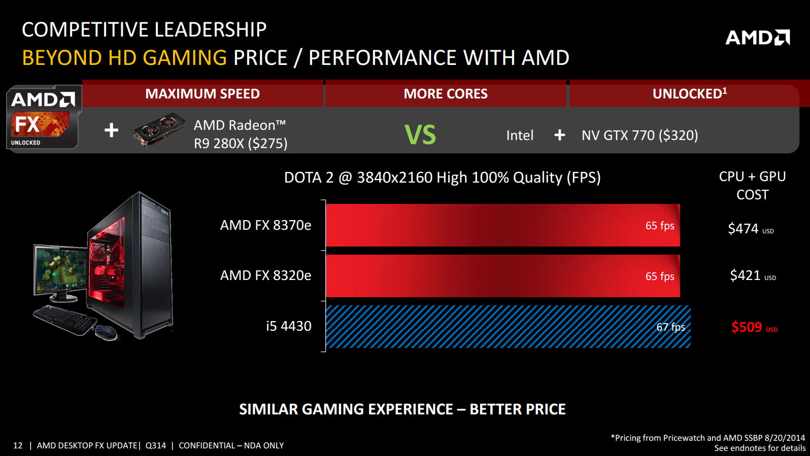 Amd Fx 8370e Cpu Review Vishera Down To 95w Price Cuts For Fx