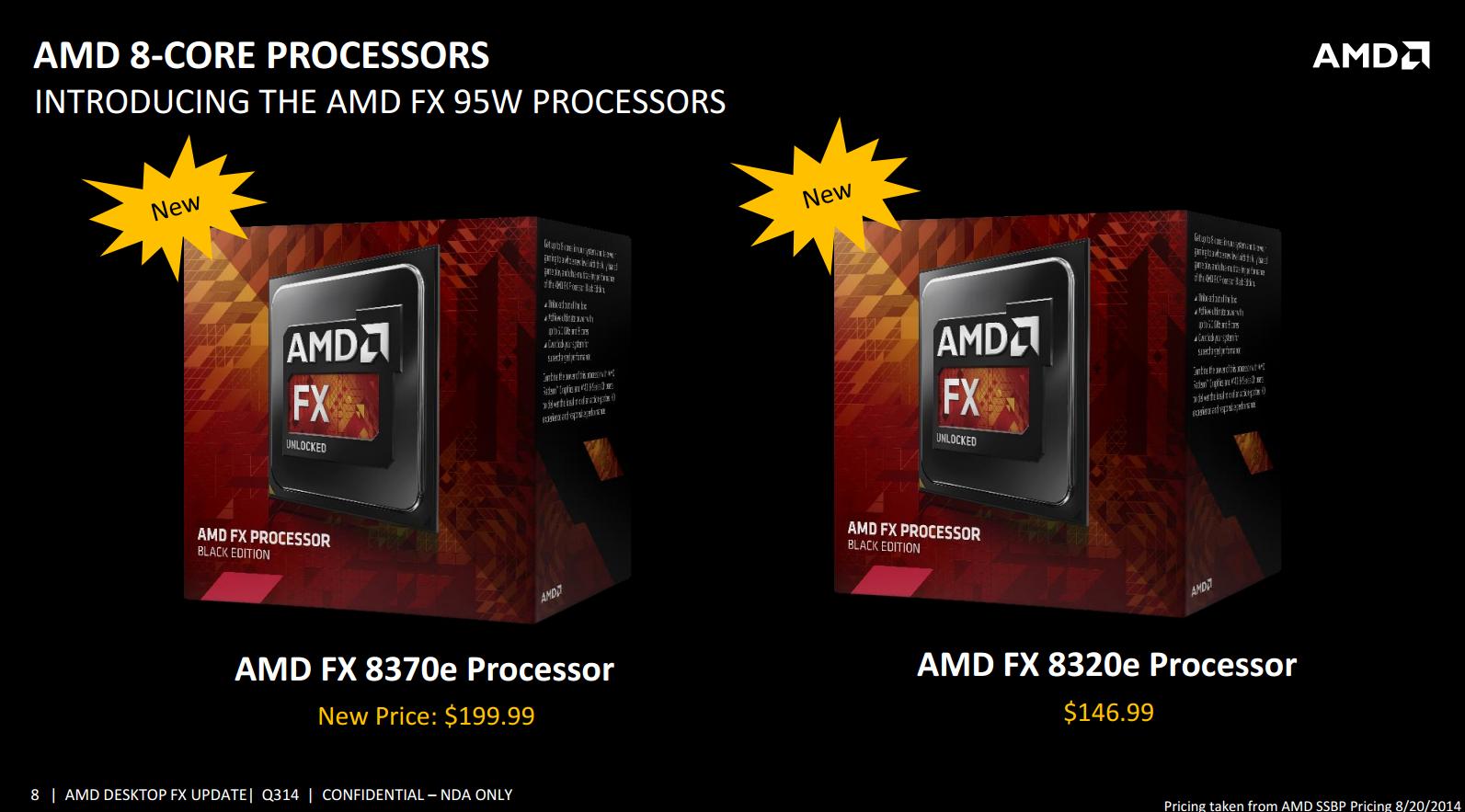 AMD FX-8370E CPU Review: Vishera Down to 95W, Price Cuts ...