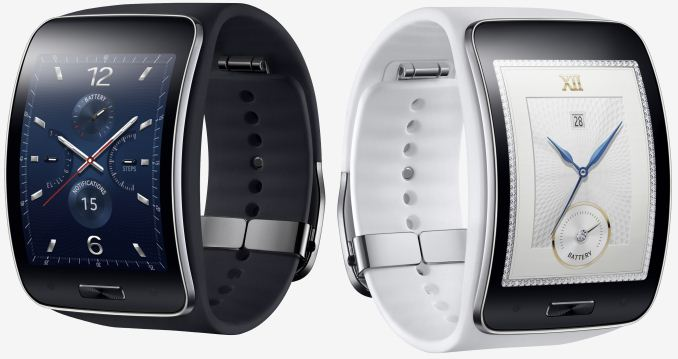 Samsung Unveils the Curved Gear S Smartwatch With Tizen ...