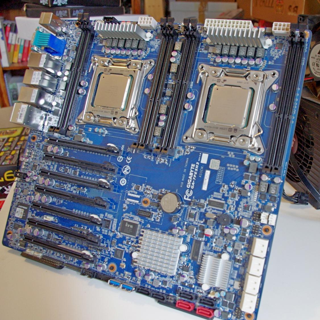 GIGABYTE Server GA-7PESH3 Motherboard Review