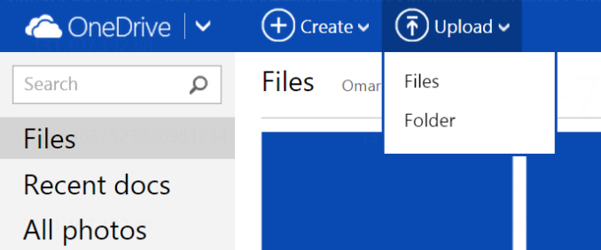 OneDriveFolderUpload 575px Microsoft Updates OneDrive File Size And Features