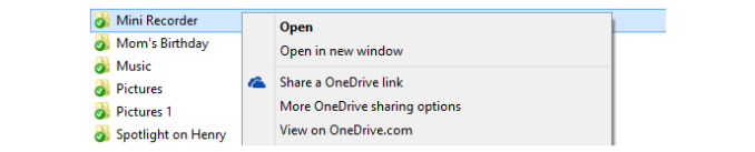 sharelink5 575px Microsoft Updates OneDrive File Size And Features
