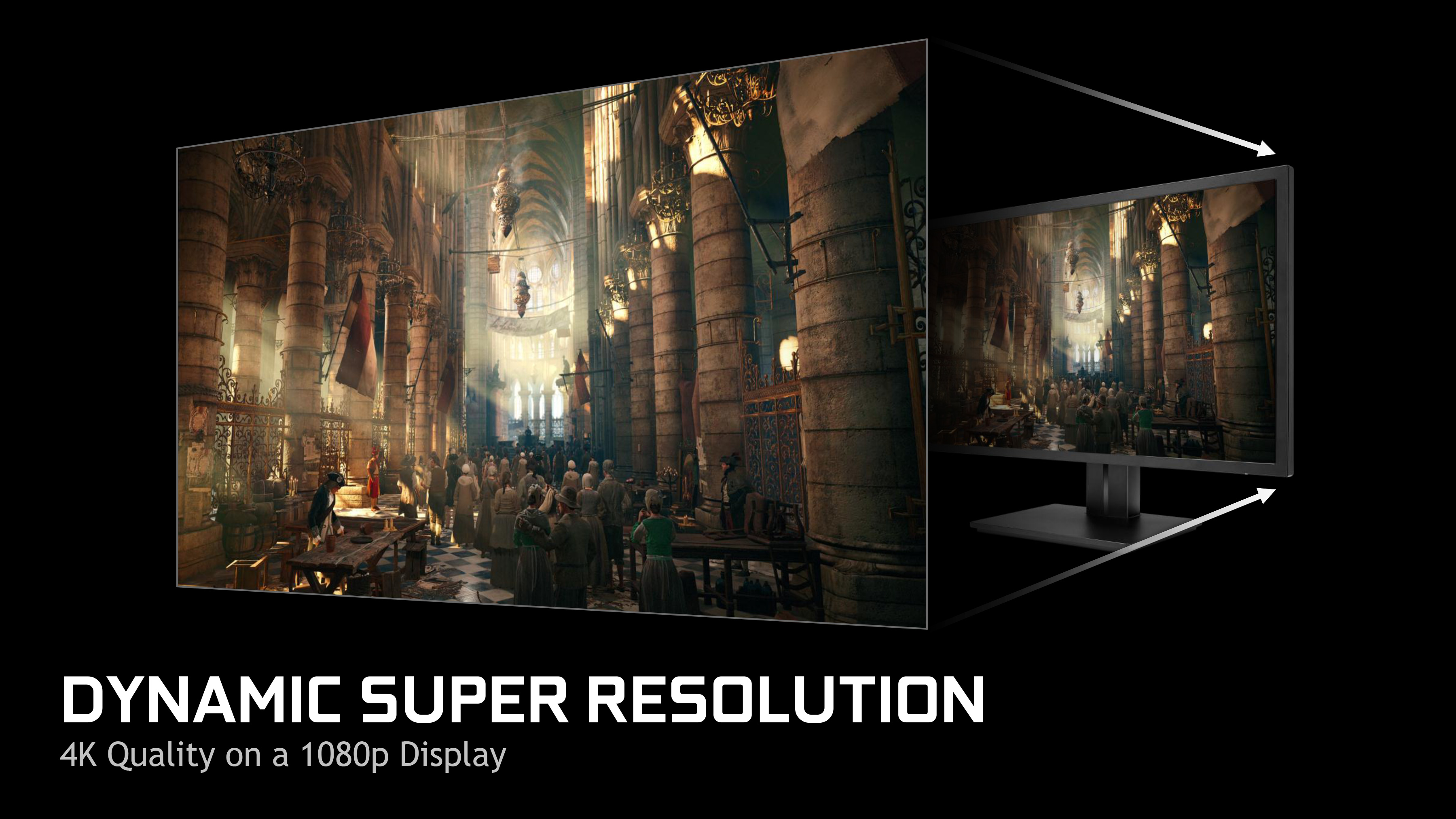 Better AA: Dynamic Super Resolution & Multi-Frame Sampled