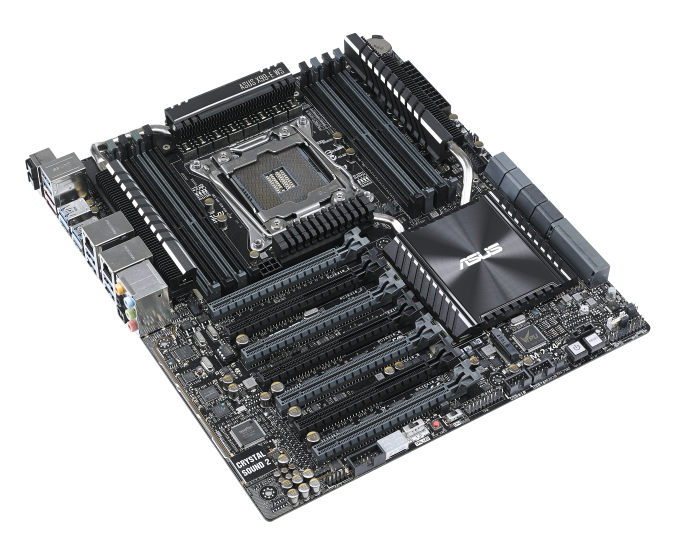 ASUS Announces Haswell-E Workstation Motherboards: X99-E WS (1P) and