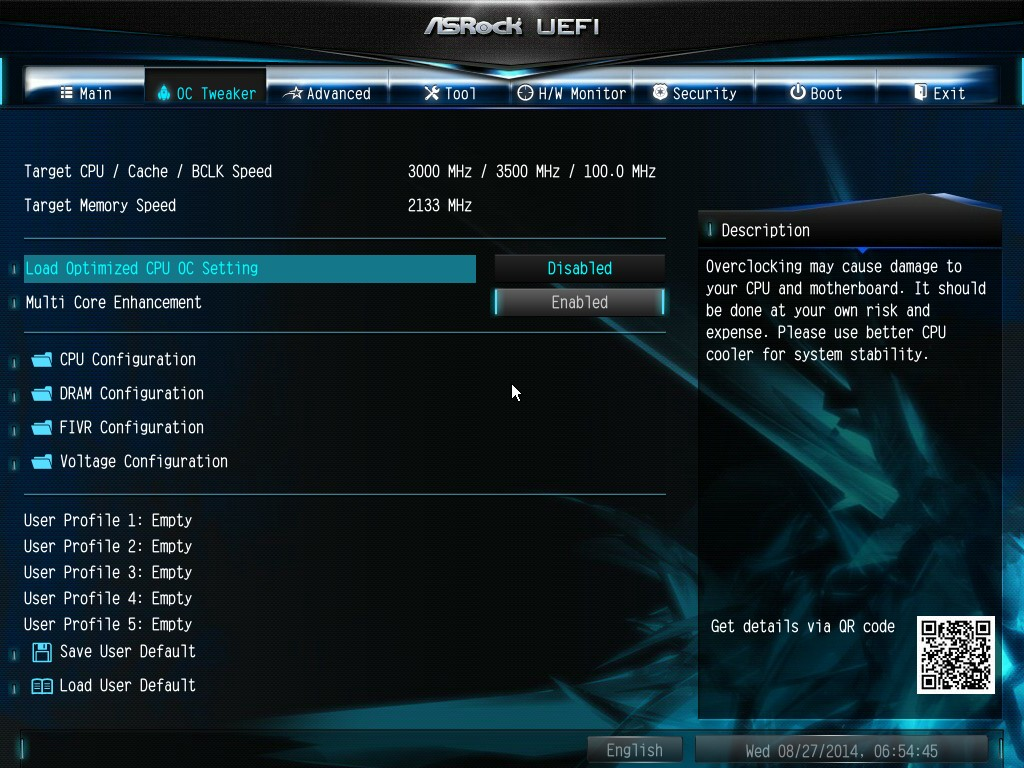 ASUS X99-E WS BIOS firmware chip