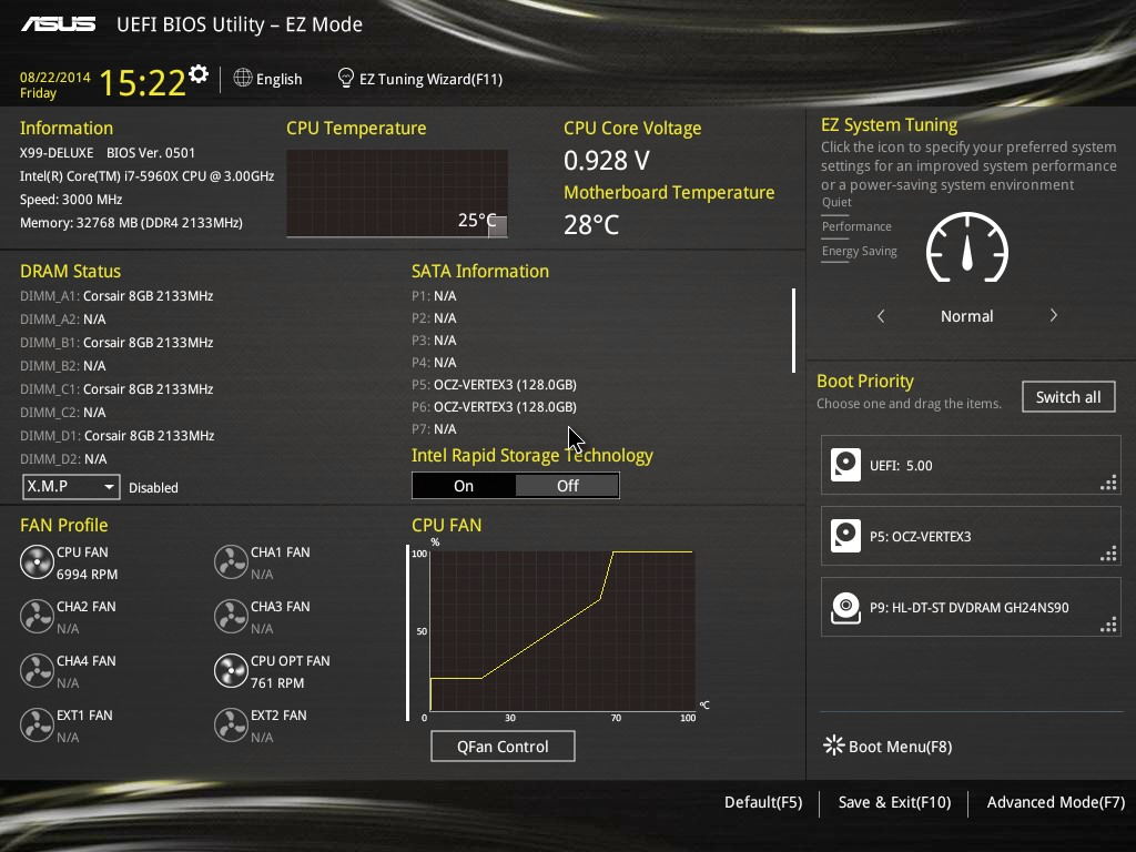 ASUS%20X99-D%20BIOS%2001%20-%20EZ%20Mode