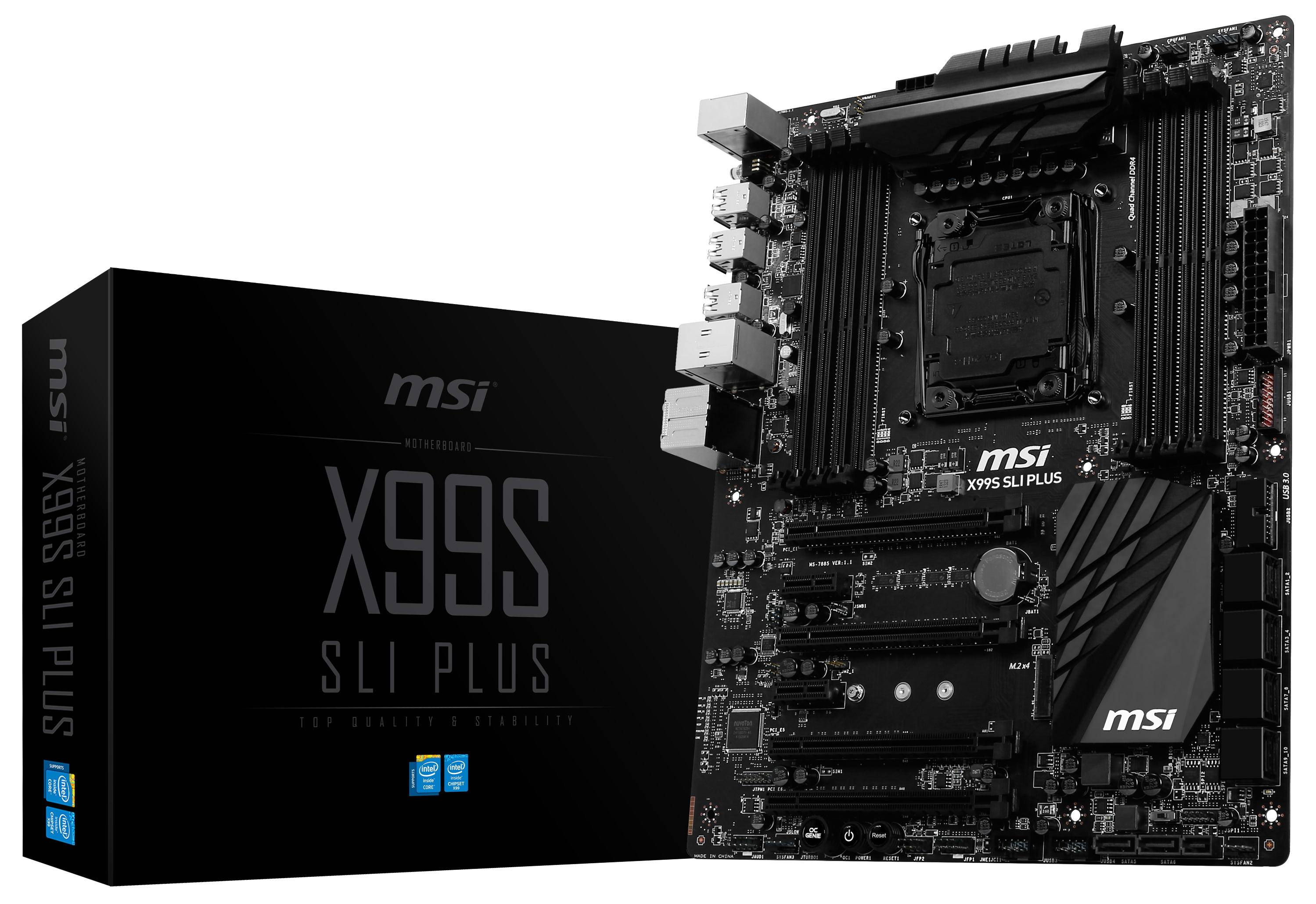 MSI X99S SLI Plus Overview, Board Features - The Intel Haswell-E X99