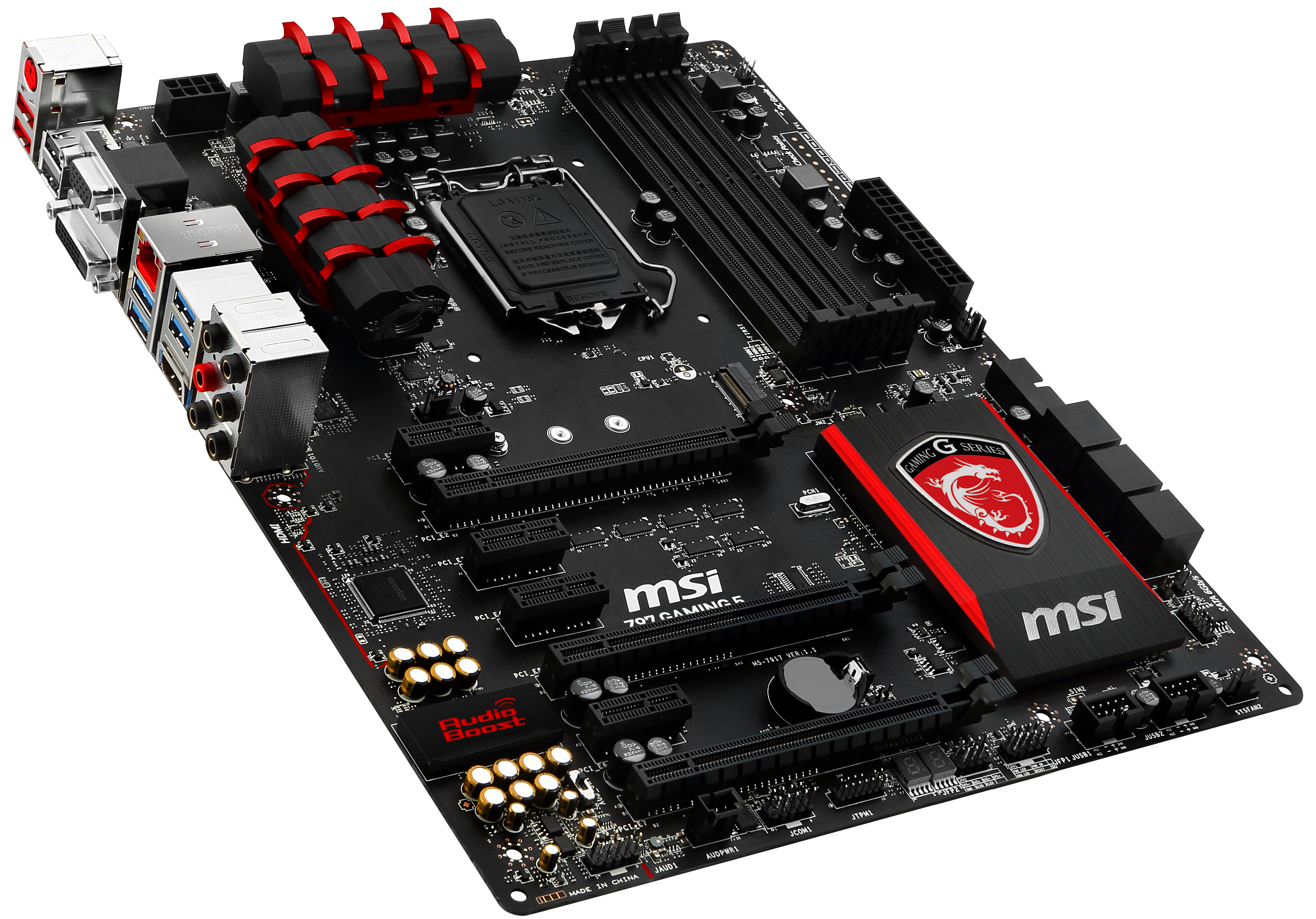 MSI Z97 Gaming 5 Motherboard Review: Five is Alive