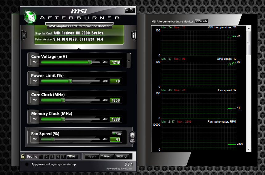 MSI Afterburner - The AnandTech Guide to Video Card