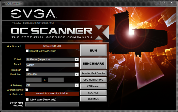 EVGA Precision X - The AnandTech Guide to Video Card