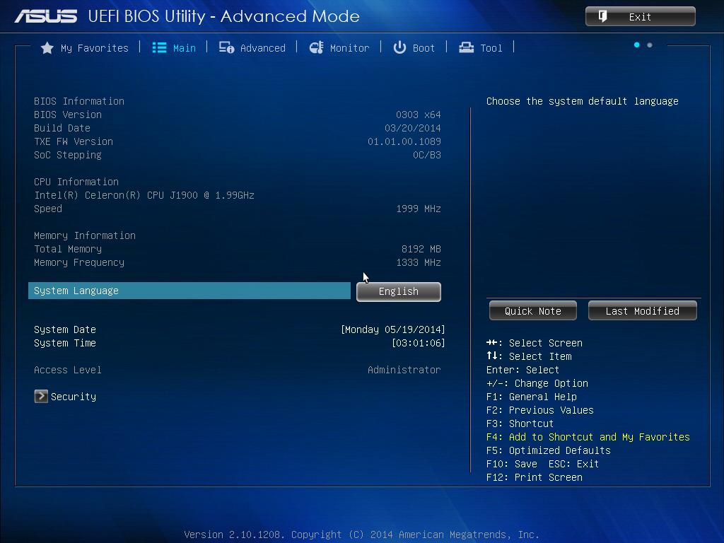 ASUS J1900I-C Driver for Windows Download
