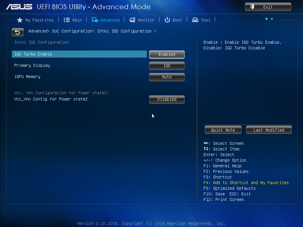 ASUS J1900I-C BIOS and Software - The Battle of Bay Trail-D