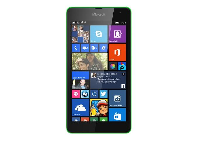 e4bcfc38a00 Microsoft Reveals The Lumia 535 Low Cost Smartphone