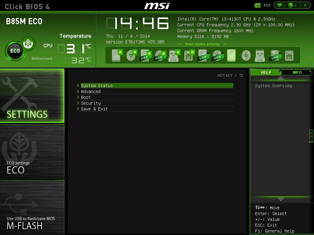 MSI B85M ECO Drivers for Windows 10