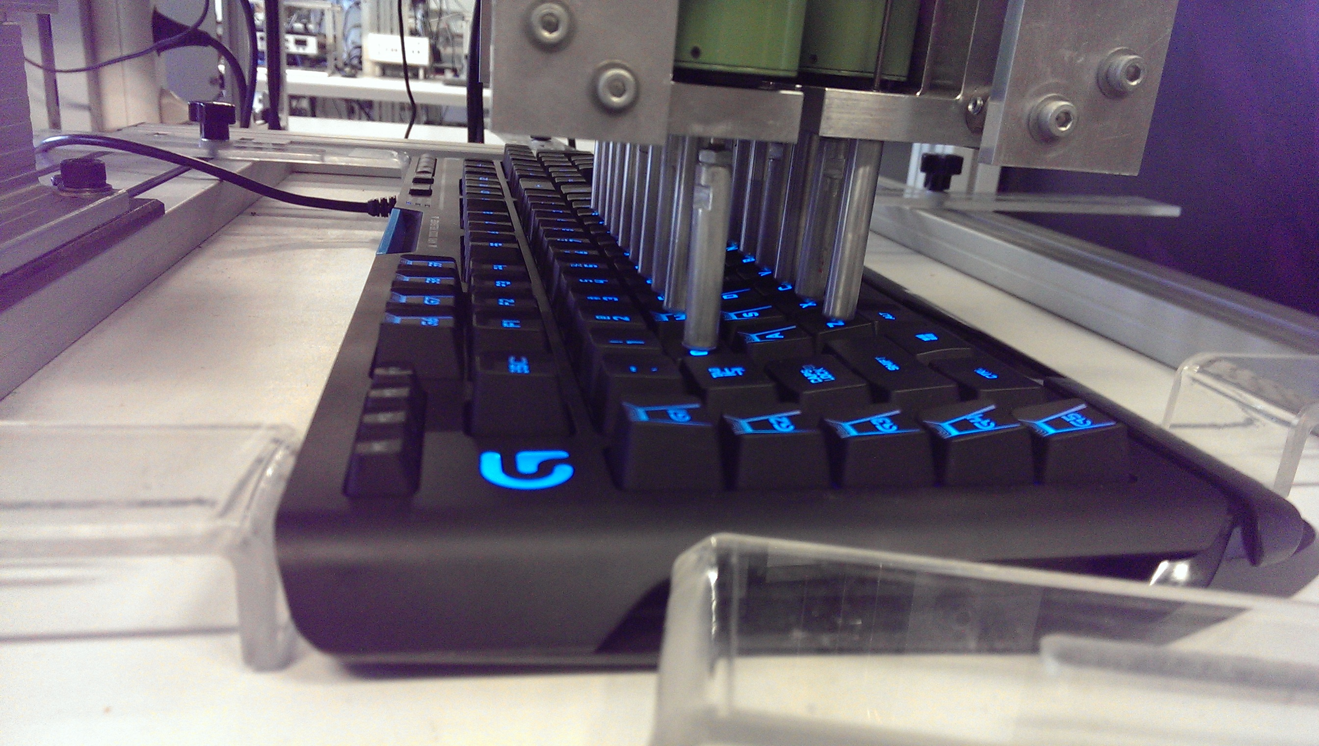 The Testing Facilities - Logitech 2014 Switzerland Tech Day
