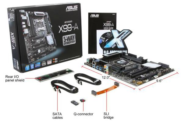 LOT 4 pcs  ASUS nVIDia 3 Ways SLI.S Bridge Connector Cable FOR  X99 DELUXE II