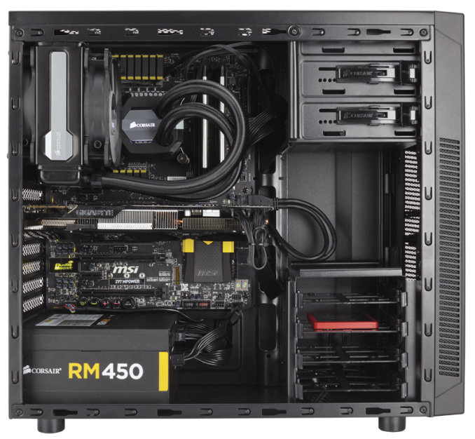 Корпус ATX Fractal Design Define R5 Window Без БП чёрный FD-CA-DEF-R5-BKO-W